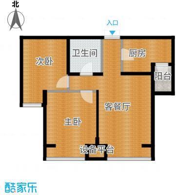永泰枕流GOLF公寓77.67㎡B户型10室