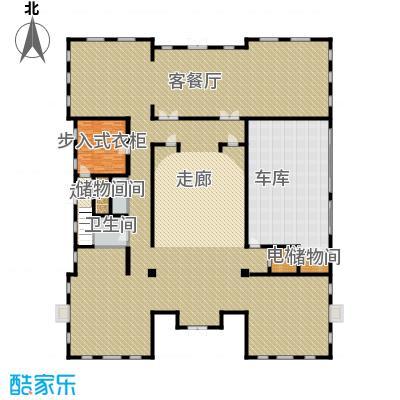 财富城堡567.00㎡b1-13首层平面图户型10室