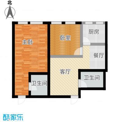 顶佳金领地85.00㎡A2+A3户型10室