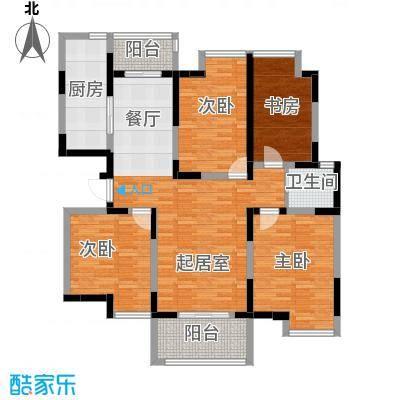 林隐天下128.00㎡23#小高层户型10室