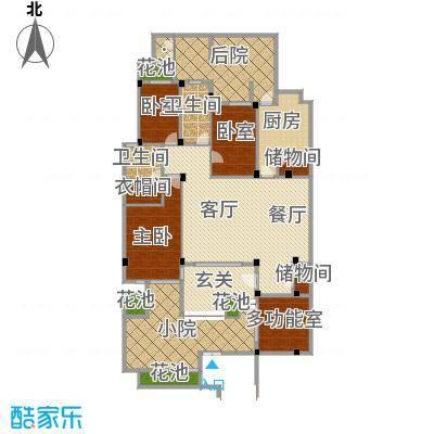中天城市风景159.80㎡B1南户型10室