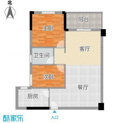 银通丽水天成90.97㎡2/3号楼02/03户型10室
