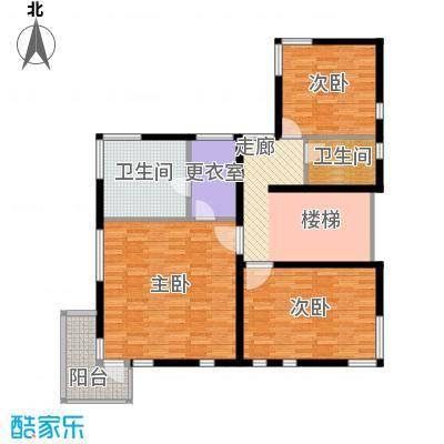 北京御墅111.40㎡GA二层家庭休息功能户型10室