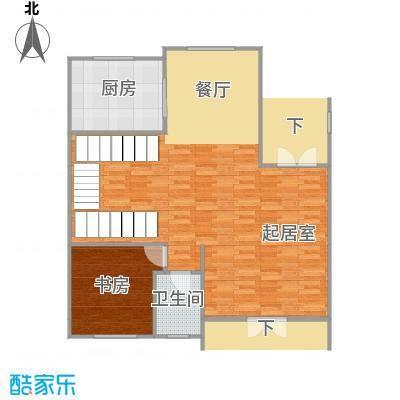 莱蒙国际公馆94.00㎡G180-120130-1首层户型10室