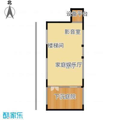 中惠团泊湾105.33㎡二期君子墅B1户型10室