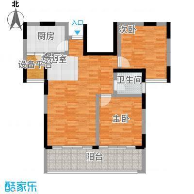 林隐天下90.00㎡23#小高层户型10室