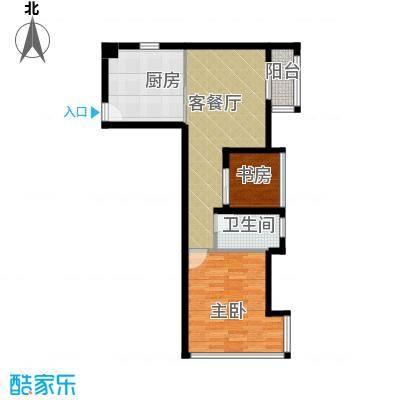 光谷8号61.00㎡A户型1室1厅1卫