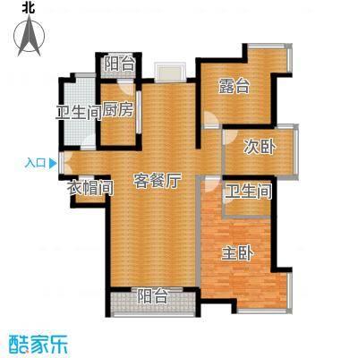 海河大道宽景公寓138.78㎡2号楼1门0103户型10室
