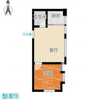 海河大道宽景公寓57.17㎡户型10室