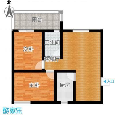 银通丽水天成69.33㎡A户型10室