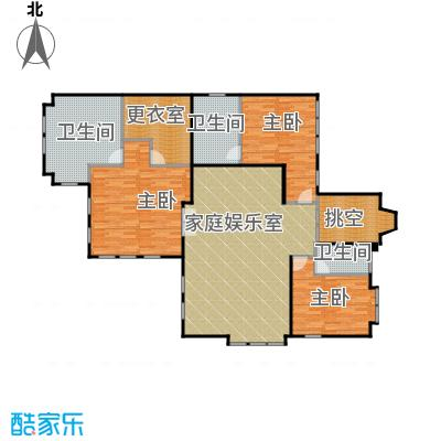 五矿正信林溪地169.03㎡B英式二层户型10室