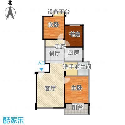 景瑞阳光尚城91.00㎡洋房H3户型10室