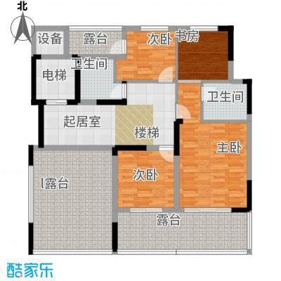 天一城天一城户型图261平T(12/14张)户型10室