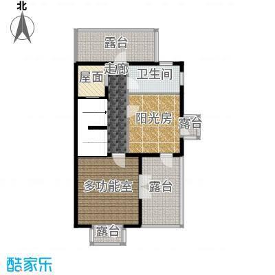 贻成水木清华82.14㎡别墅三期TH1三层户型10室