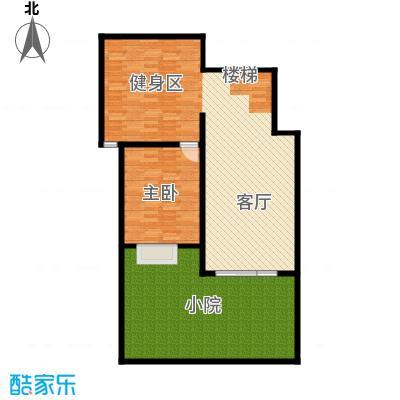 北京奥林匹克花园73.00㎡b2-xy7下层户型10室