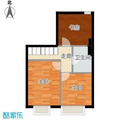 星河18566.00㎡C3夹层户型3室1卫