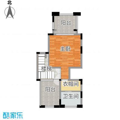 隆鑫72府144.97㎡A2三层户型1室1卫