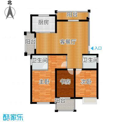 冠达豪景东苑111.46㎡冠达豪景苑E4户型10室