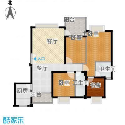 新世界恒大华府131.00㎡P4户型4室2厅2卫