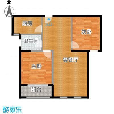 大华曲江公园世家88.80㎡B户型10室