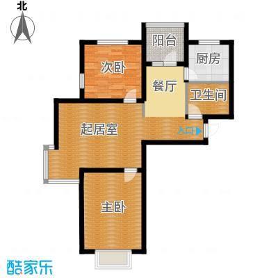 金厦龙第世家79.64㎡户型10室