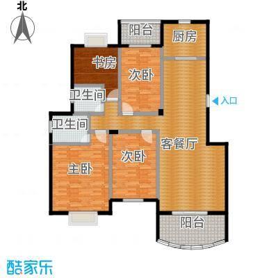 新澳蓝草坪150.00㎡房型户型4室1厅2卫1厨