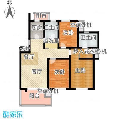 中天城市风景118.36㎡F户型10室