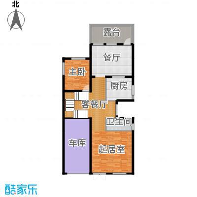 贻成水木清华135.72㎡别墅三期TH4一层户型10室