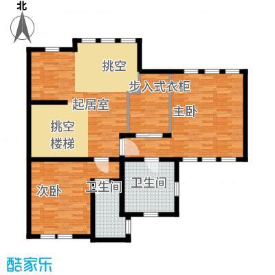 五矿正信林溪地108.55㎡b意式二层户型10室