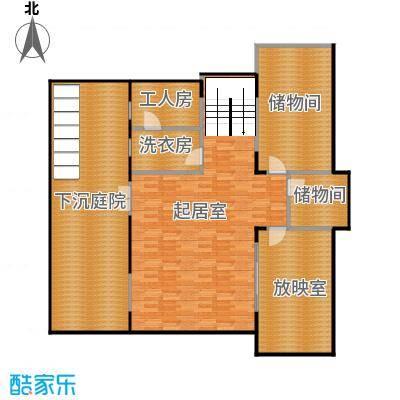 艾维诺森林157.24㎡独栋M地下一层户型4室1厅
