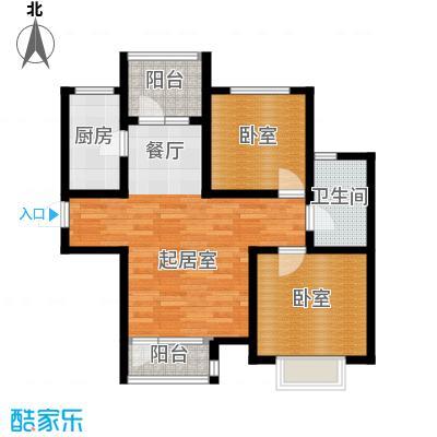 金厦龙第世家73.56㎡户型10室