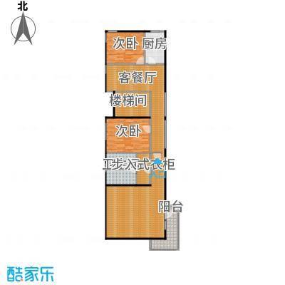 北京御墅123.70㎡A二层平面图户型10室
