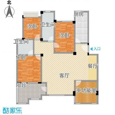 中天城市风景131.02㎡B4南户型10室