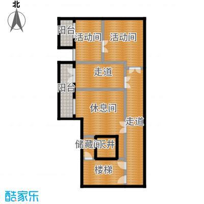 财富城堡103.00㎡b1-6地下二层平面图户型10室