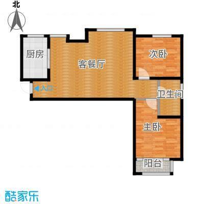 东丽1号95.76㎡K户型10室