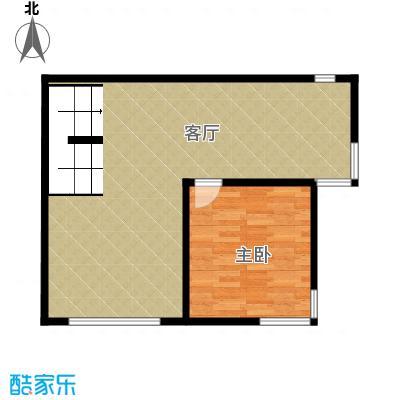 北京奥林匹克花园67.19㎡B1边1-XY下层户型10室