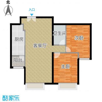 北京华贸城95.00㎡K户型10室