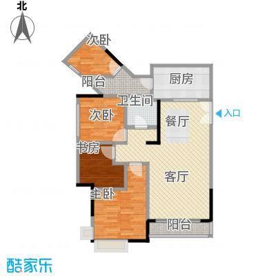 斌鑫中央国际公园80.83㎡斌鑫中央一期24-26号楼4户型2室2厅1卫