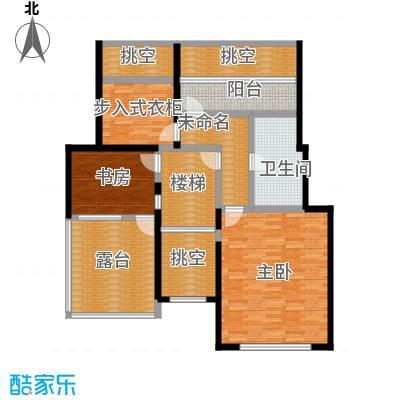 北京奥林匹克花园224.79㎡D1-2-SY上层户型10室