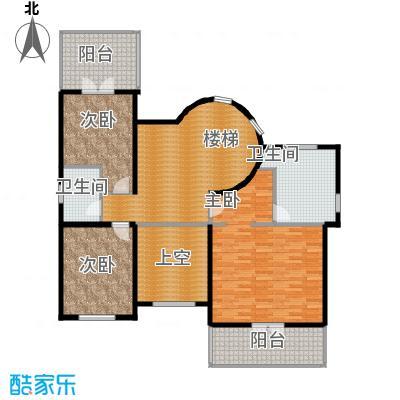 团泊湖庭院136.06㎡户型10室