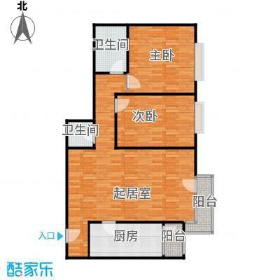 cago寓所103.70㎡E户型10室
