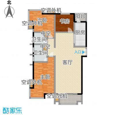 海河大道宽景公寓126.98㎡1号楼1门03户型10室
