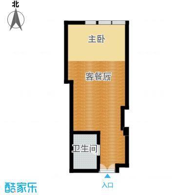 塞纳公馆45.16㎡5-10层户型10室