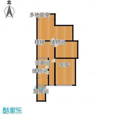 贻成水木清华111.56㎡别墅三期7H-1-01地下室户型10室