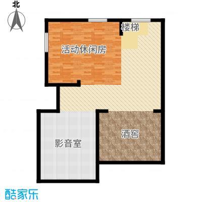 恒盛尚海湾滨海106.63㎡北区C3地下一层户型10室