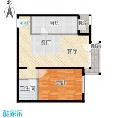 cago寓所69.10㎡D户型10室