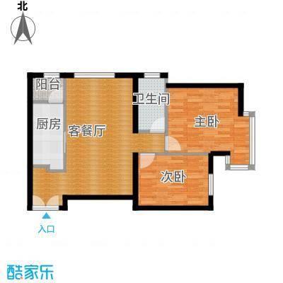 北京华贸城87.00㎡M户型10室