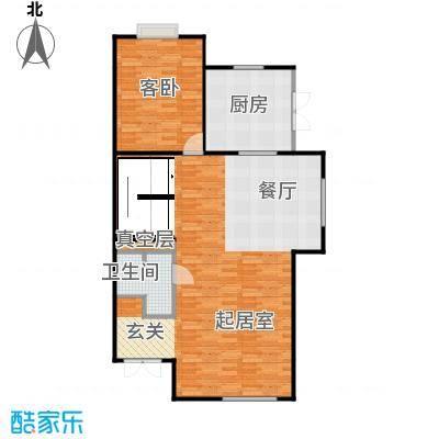 贻成水木清华97.44㎡别墅三期7H-1-01一层户型10室