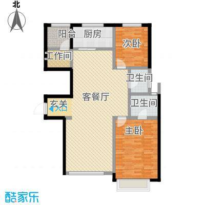 宜和澜岸110.04㎡A4首层户型10室