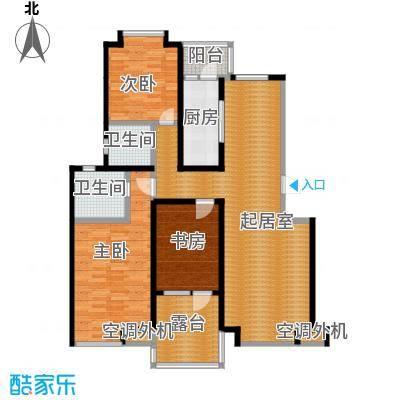 金厦龙第世家116.54㎡户型10室